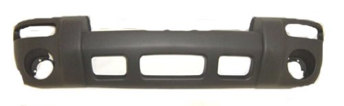 OE Replacement Jeep Liberty Front Bumper Cover (Partslink Number CH1000367) -