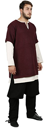 Calvina Costumes Helm Medieval Overtunic by Formen – Made in Turkey, (Norman Knight Costume)