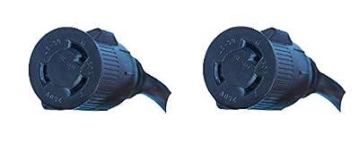 Lotos Technology PT01 Pigtail Type 1, Convert 220V to 110V for LT5000D/LTP5000D/LTPDC2000D/CT520D, Black