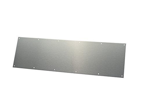 Rockwood K1050 Rectangular Kick Plate, Stainless Steel with Satin Finish, 34
