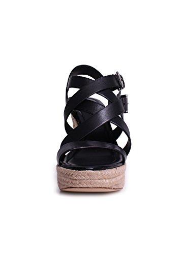 JOCELYNN WEDGE sandalo con zeppa corda