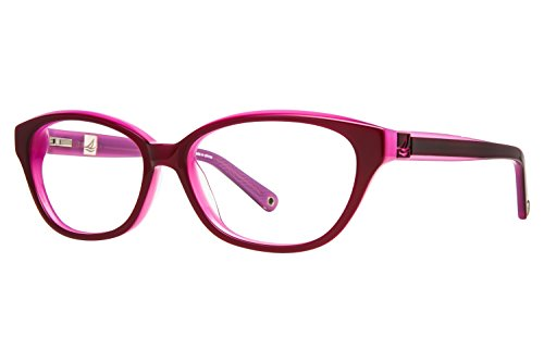 Price comparison product image Sperry Top-Sider Avon Eyeglass Frames - Frame Burgundy/Pink, Size 54/15mm SPAVON03
