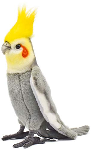 Cockatiel Plush Soft Toy by Hansa. 23cm. 6470 from Hansa