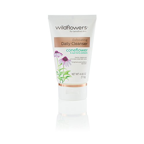 - Wildflowers Exfoliating Daily Cleanser, 4 Fluid Ounce