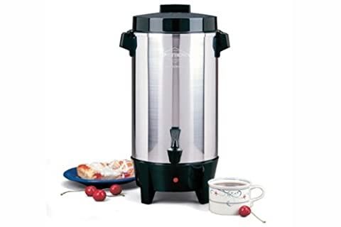 West Bend 58002 12-42 Cup Automatic Party Perk Coffee Urn (C Vault Large)