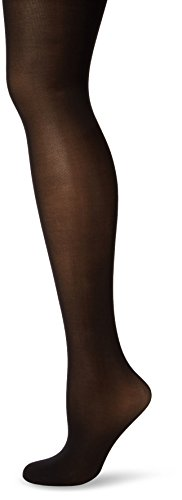Maidenform Women's Hosiery Sexy Shaping Tummy Flattener, Black, (Body Shaping Pantyhose)