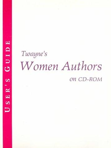 Twayne's Women Authors on Cd-Rom