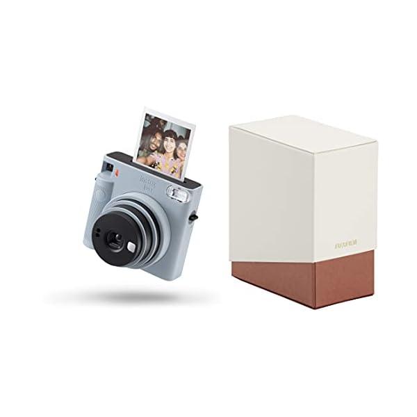 RetinaPix Fujifilm Instax Square SQ1 Camera - Glacier Blue with Film Box