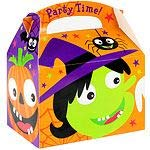 Amscan Halloween Party Time Card Party Boxes x