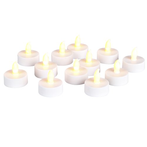 Gerson Everlasting Glow 12-Piece Candles With Super Bright LED