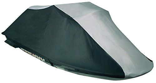 Leader Accessories 600D Polyester PWC Cover Ready Fit SeaDoo SeaDoo 1996,1998-2002 GTX,1997-98,2000 GTI Grey/Black (Pro Contour Fit Pwc Covers)