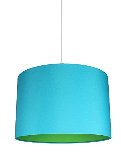 Teal Blue Pendant Light - 1
