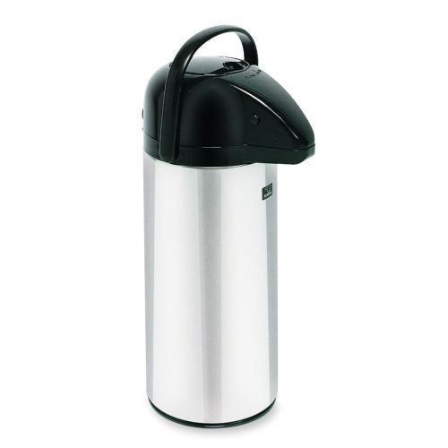 (28696.0002 BUNN Push Button Airpot Brewer - 2.32 quart - 12 Cup(s) - Stainless Steel)