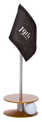 Anne Stone Golf Putt-A-Round 9th Hole Flag 1 Putting Aid, Orange, Small