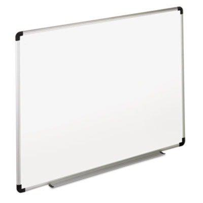 universal-dry-erase-board-melamine-36-x-24-white-black-gray-aluminum-plastic-frame-43723
