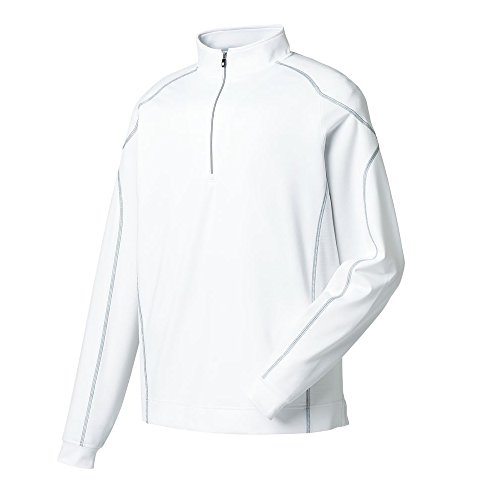 Lined Mock Zip Pullover - 2