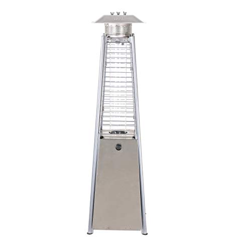 Caesar Fireplace Commercial Patio Heater (PH05-SS) ()