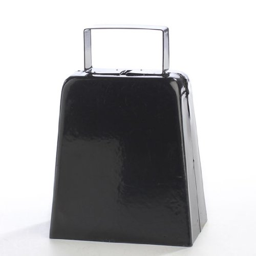 3-Black-Metal-Cowbell-with-Handle-Package-of-4