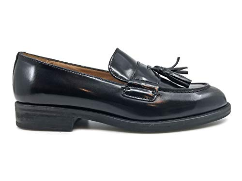 In Mocassino Black Pelle Donna Antica 20271 Cuoieria Nera 08x7EwqIw