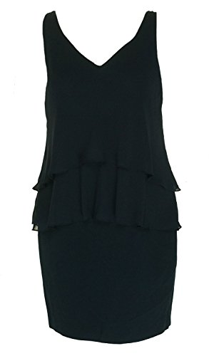 Lauren Ralph Lauren Womens V-Neck Tiered Sheath Dress Blue 10 Ralph Lauren Wedding