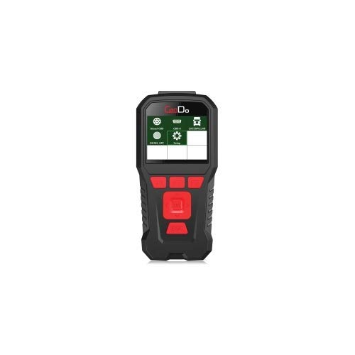 HD Code II Handheld Commercial Truck Engine Transmission Scanner with DPF Regen with TruckFaultCodes