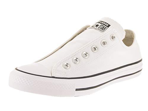 Converse Men's Chuck Taylor All Star Slip, Black/White, 6 M US