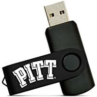 NCAA Pittsburgh Panthers 8GB High-Speed USB Flash Drive with Swivel Cap and Lanyard