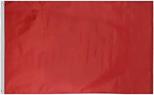 Green Grove Products Red Flag 3′ x 5′ Ft 210D Nylon Premium Outdoor