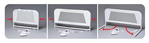 KidCo Convertible Crib Mesh Bed Rail, White