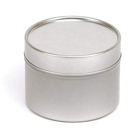 Holds approx 80g Wax Sizes are approx Round Seamless Candle Tins 64mm x 45mm 6 Fragrancia Empty Small Solid Lid