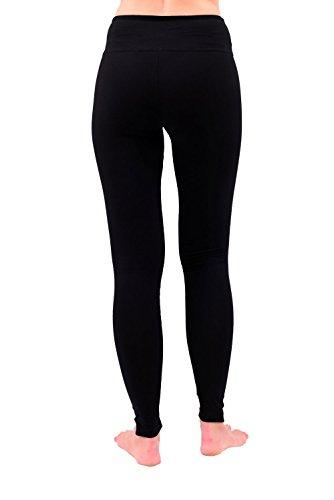 Yoga Pants For Women Best Black Leggings 28″ Inseam Length Regular & Plus Size (3XL)