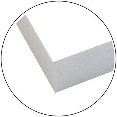 LePolystyr/ène Carton Plume//Mousse Premier 10mm 50x65cm 5 pi/èce
