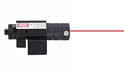 Vokul® Hot Tactical Red Laser Beam Dot Sight Scope for Gun Rifle Pistol Picatinny Mount