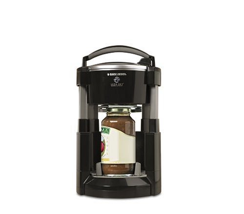 Black & Decker JW200B Lids Off Jar Opener, Black by BLACK+DECKER