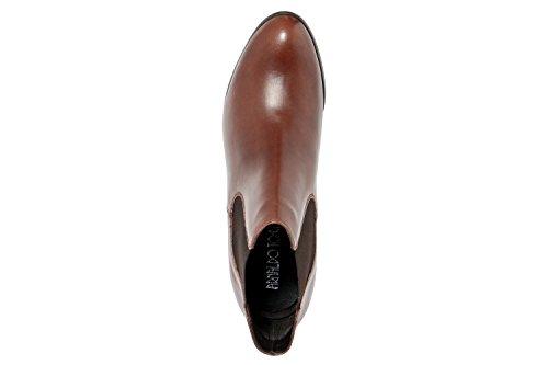 Arnaldo Toscani - Botas de Piel Lisa para mujer marrón marrón