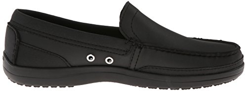 Crocs Wrap Colorlite Loafer M - Mocasines Nero (Black/Black)