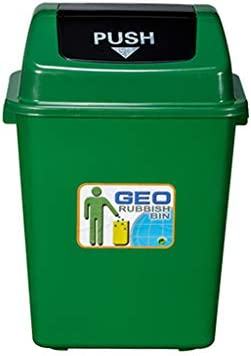 NN ゴミ箱 - 屋外、ショッピングモールスーパーマーケット40L大容量ごみはゴミをリサイクルすることができますゴミ箱は厚いプラスチックゴミ箱ができます42 * 31 * 60CM 軽量 (色 : C)