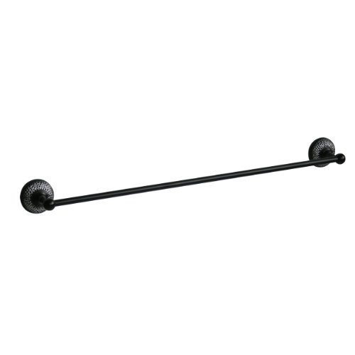 Elegant Home Fashions Hammer 18-Inch Towel Bar, Matt (Elite Towel Ring)