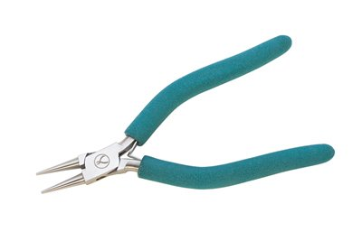 EURO TOOL (PLR-1235) Classic Wubbers Round Nose Pliers (Round Wire Nose)