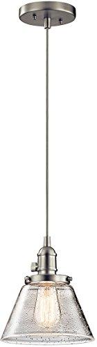 Kichler 43851NI One Light Mini Pendant
