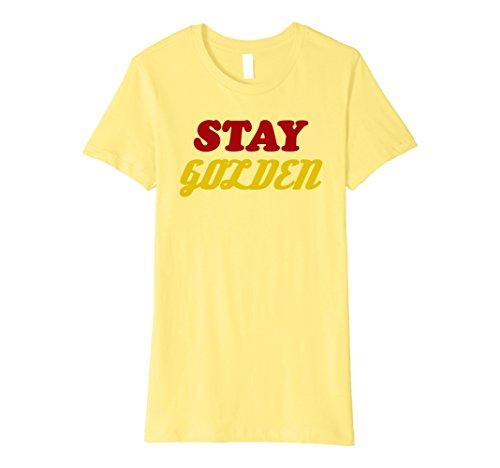 Stay Golden T-Shirt - 7