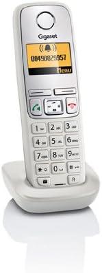Teléfono inalámbrico Gigaset A400H gris claro con base para cargar teléfonos A400/A400A: Amazon.es: Electrónica
