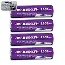 Efest Purple 18650 2500mAh Rechargeable product image