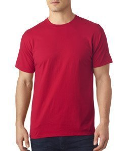 Hanes Men's X-Temp Crewneck Short-Sleeve T-Shirt (Medium), Deep ()