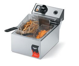 Vollrath  15 Lb. Medium-Duty Electric Countertop Fryer - Cay