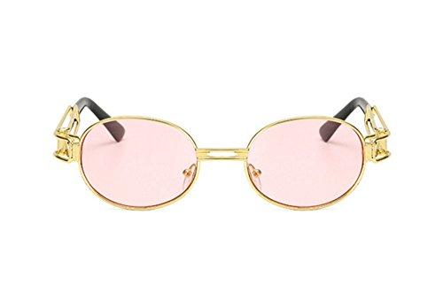 de UV400 protection soleil C10 rétro ovales lunettes Steampunk UV gothique Keephen wUFPqaH
