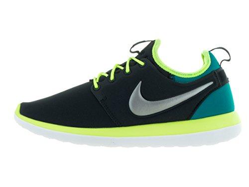 Nike Herren Roshe Two (Gs) Laufschuhe Black (Black (schwarz / Zinn-Volt MTLC-rio teal))