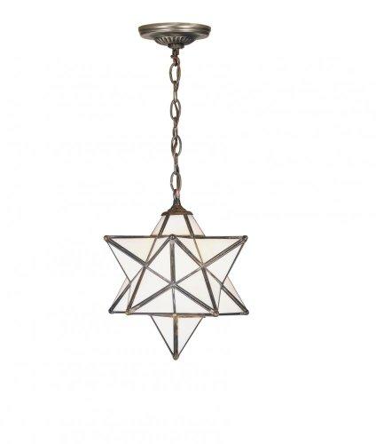 - Meyda Tiffany 21841 Moravian Star Pendant Light Fixture, 12