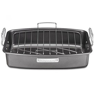Cuisinart ASR-1713V Ovenware Classic Collection 17-by-13-Inch Roaster with Removable Rack (Removable Roasting Pan compare prices)