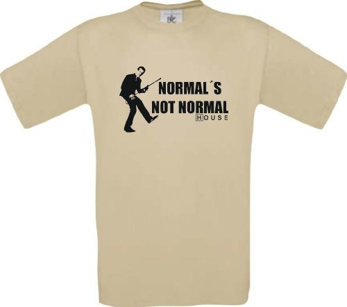 ShirtInStyle T-Shirt DR HOUSE Normal´s Not Normal Größen S-XXL